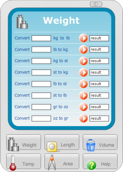 Metric Imperial Converter and BMI Calculator