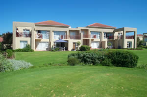 Goose Valley holiday accommodation - apartment block