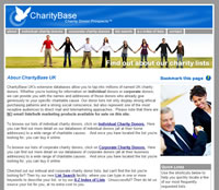 CharityBase UK - Charity mailing lists