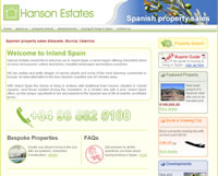 Hanson Estates Spanish Property Sales inland Spain Albacete