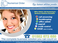 Call Answering Office Admin Bookkeeping Dunstable