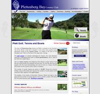 Plett golf