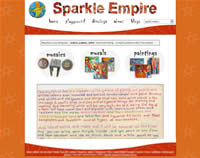 Sparkle Empire Art by Maureen Simpson